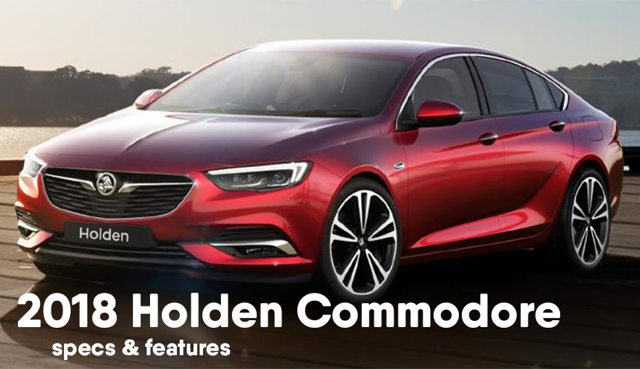 Holden Commodore 2017 specs & features