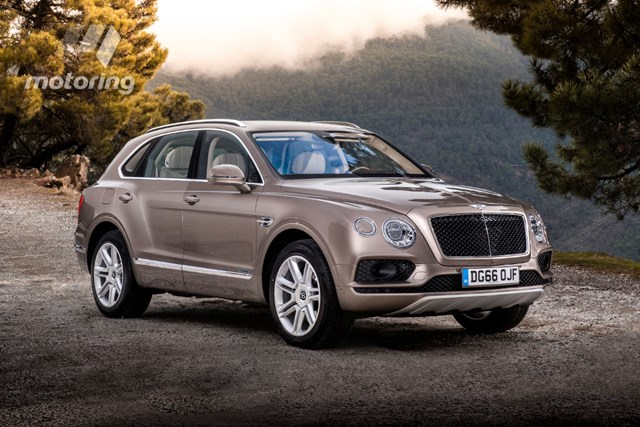 turbo diesel Bentley Bentayga