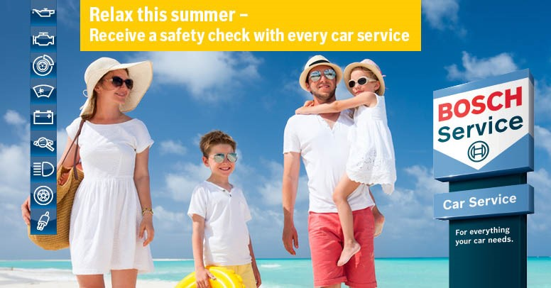 Safety Check Car Service in Summer